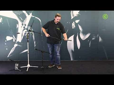 Gravity MS4321B Boom Microphone Stand w/Tripod Base