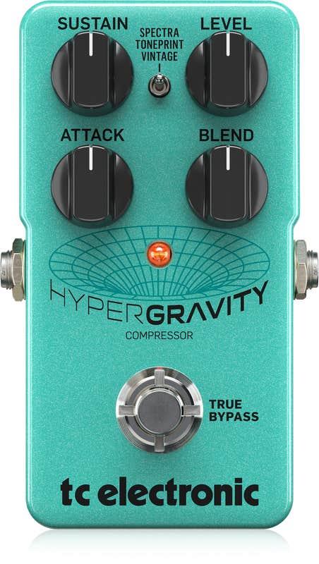 TC Electronic HyperGravity Compressor Guitar Pedal