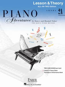 Piano Adventures All - In - Two Level 2A Lesson & Theory (Faber)