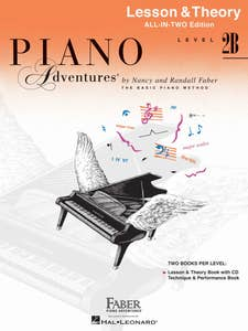 Piano Adentures All In Two Level 2B Lesson Theory / FABER (PIANO ADVENTURES)