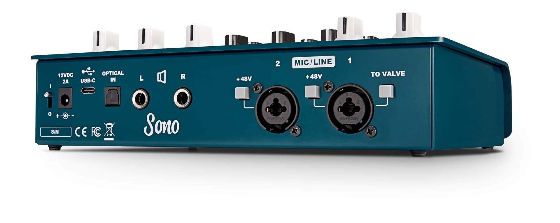Audient SONO Professional USB Audio Interface w/Valve Guitar Preamp & Speaker Sim