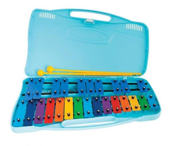 Angel AX25K Glockenspiel w/Coloured Bars