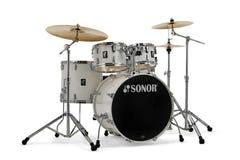 Sonor Stage AQ1 5pc Drum Kit w/Hardware - Piano White