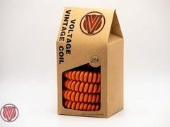 Voltage Vintage Coil Instrument Cable - Orange