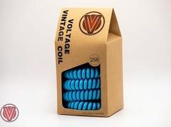 Voltage Vintage Coil Instrument Cable - Electric Blue
