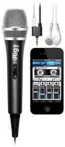 iRig Mic with VocaLive software for iPhone/iPod Touch/iPad