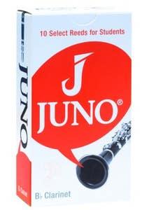 Vandoren JUNO Bb Clarinet Reed - Strength 3 - Pack of 10