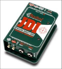 Radial JDI Passive Direct Box (J-DI)