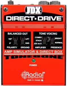 Radial Tonebone JDX Direct Drive Amp Simulator/DI