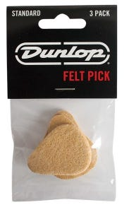 Dunlop Ukulele Felt Picks (3pk)