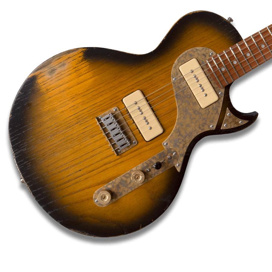 Paoletti Guitars JR Loft 2P90 - 2 Tone Sunburst