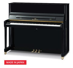 Kawai K300JEP 122cm Upright Piano - Ebony Polish (K-300JEP)
