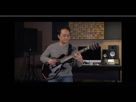 Yamaha SLG200N Silent Guitar NYLON String w/Carry Bag - Translucent Black (SLG200NTBL)