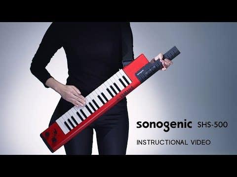Yamaha SHS500 Sonogenic Keyboard / Keytar - Red w/FREE BAG!