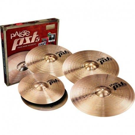 Paiste PST5 14/16/20 Universal Cymbal Pack w/BONUS 18