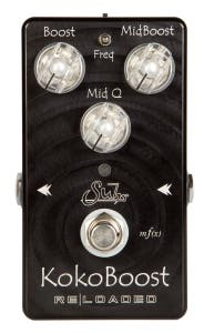 Suhr Koko Boost Reloaded Pedal top