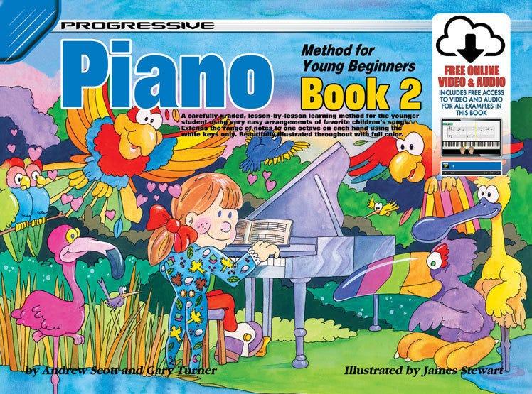 Progressive Piano Method for Young Beginners Book 2 BOOK/ON LINE AUDIO  (KOALA)