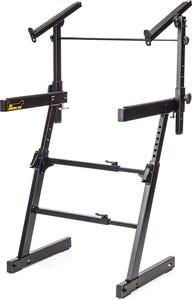 Hercules KS410B Z-Style Autolock Keyboard Stand - 2 Tier