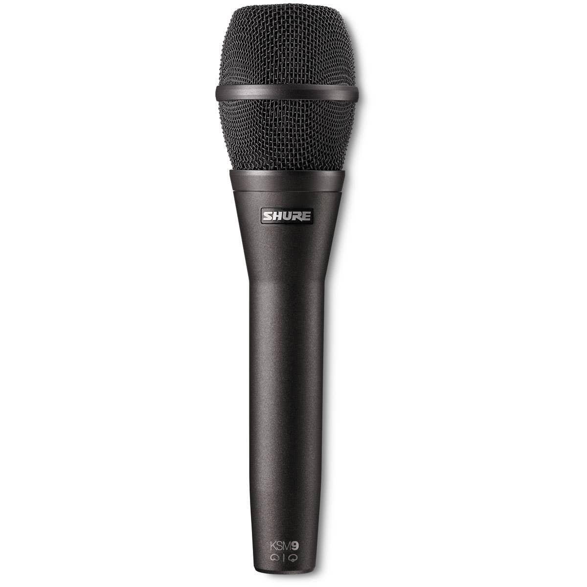 Shure KSM9 Handheld Vocal Microphone - Charcoal Grey