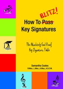 How to Blitz Key Signatures / COATES (BlitzBooks)