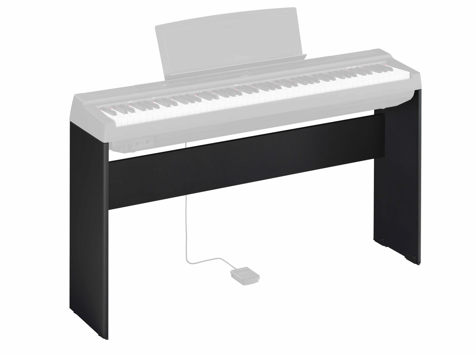 Yamaha L125B Timber stand for Black P-125 Portable Pianos