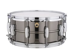 """Ludwig Black Beauty 14"""" x 6.5"""" Snare Drum (LB417)"""
