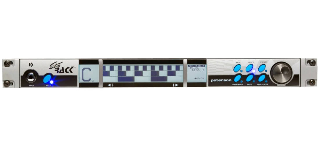 Peterson StroboRack Standard Rack Tuner