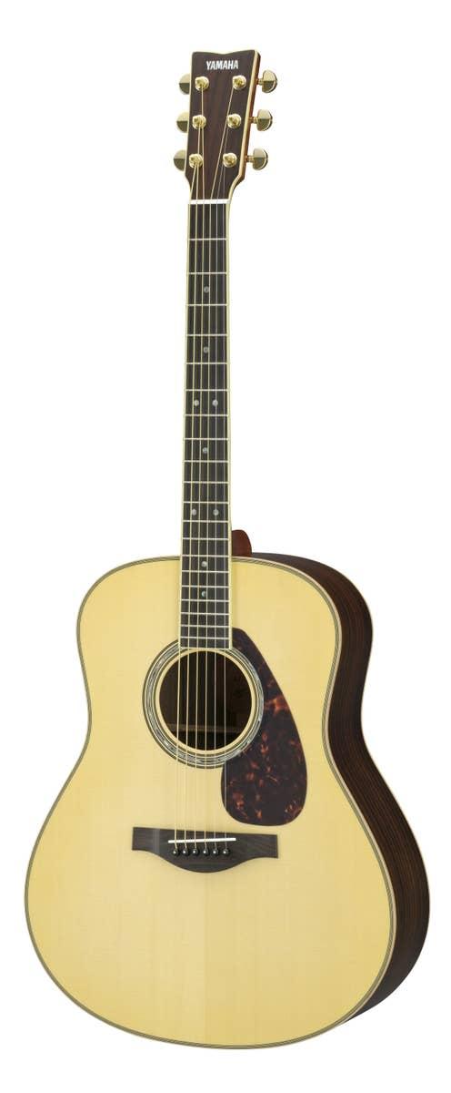 Yamaha LL16ARE Jumbo Acoustic Electric Guitar w/Hard Bag - Natural