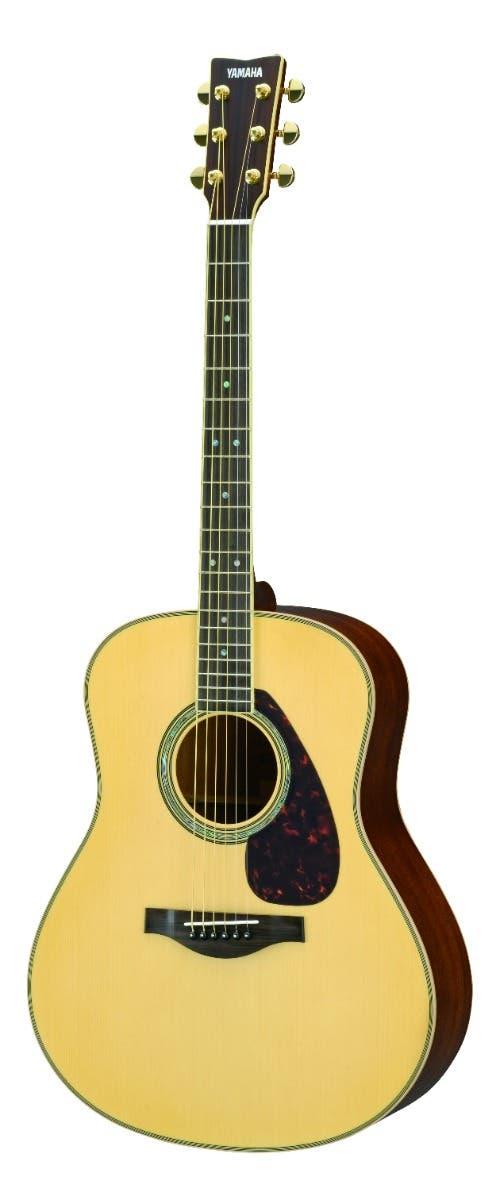 Yamaha LL16MARE Jumbo Acoustic Electric Guitar w/Hard Bag - Natural