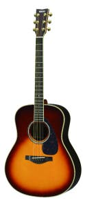 Yamaha LL6ARE Jumbo Acoustic Electric Guitar w/Hard Bag - Brown Sunburst