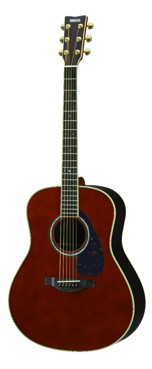 Yamaha LL6ARE Jumbo Acoustic Electric Guitar w/Hard Bag - Dark Tinted