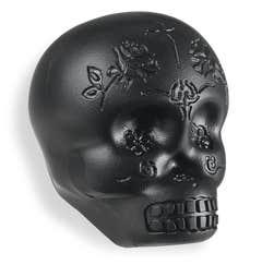 Latin Percussion LP Sugar Skull Shaker - Black (LP006-BK)
