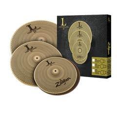 "Zildjian L80 ""Low Volume"" Cymbal Set (LV468)"