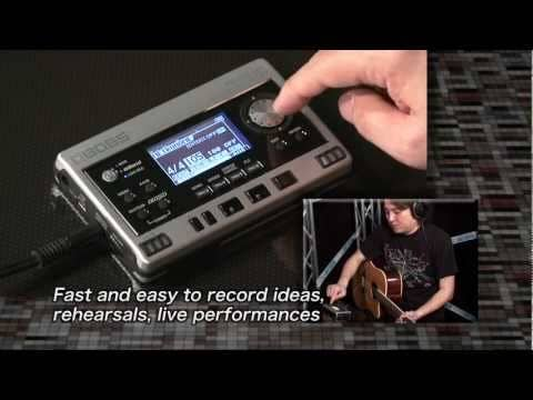 Boss Micro BR80 digital recorder