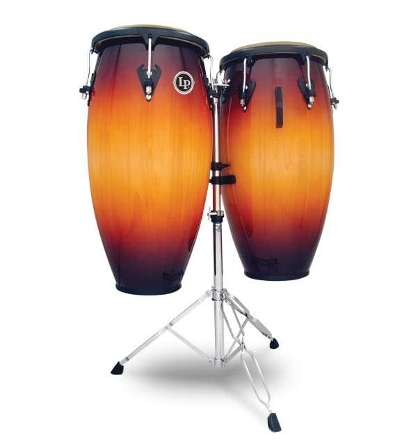Latin Percussion LP Matador Custom Wood Conga Set - Vintage Sunburst (M846S-VSB)