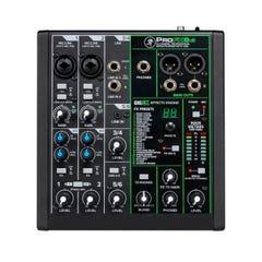 Mackie ProFX v3 6 Channel Professional Effects Mixer w/USB (MK-PROFX6V3)