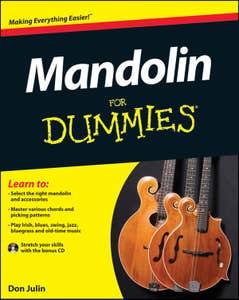 MANDOLIN FOR DUMMIES / JULIN DON (JOHN WILEY)