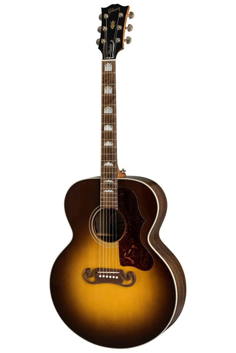 Gibson Montana SJ-200 Studio Walnut - Walnut Burst