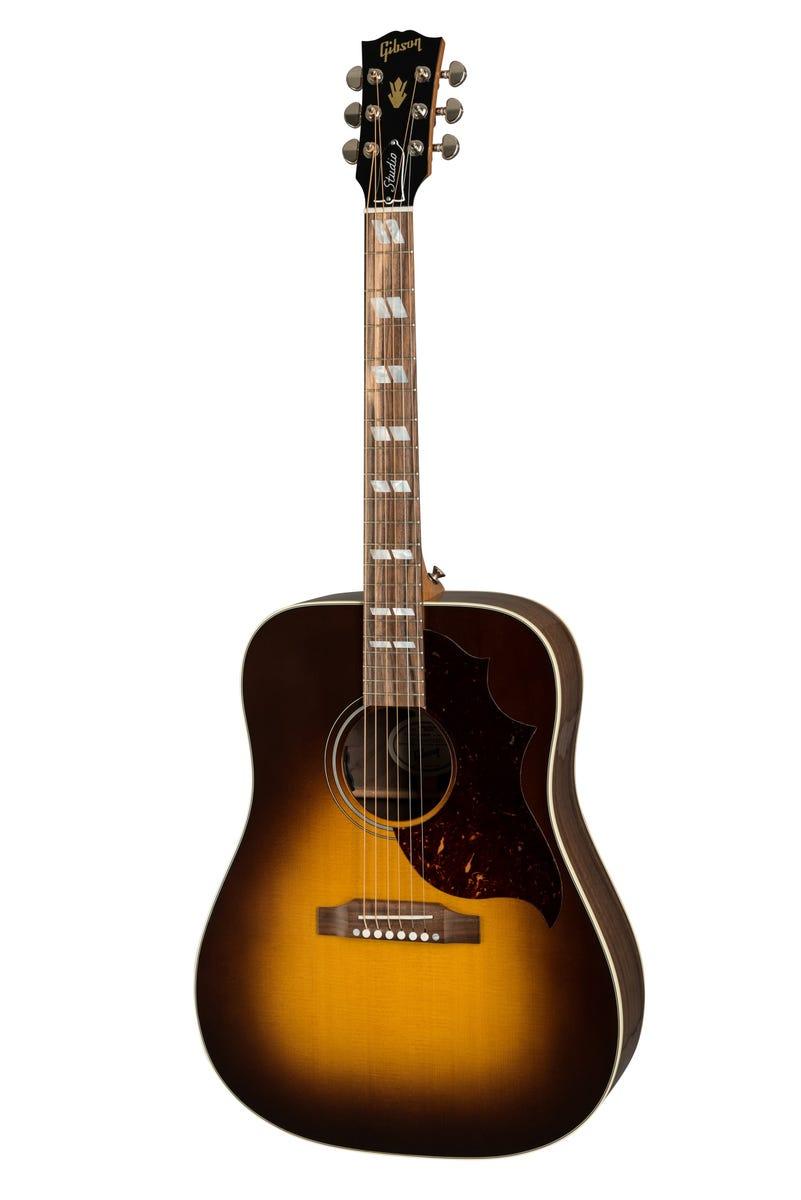 Gibson Montana Hummingbird Studio Walnut - Walnut Burst