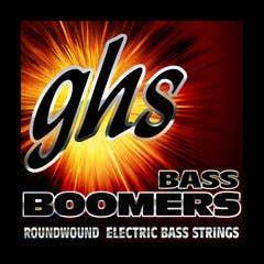 GHS Bass Boomers 5 String 45-126 Medium Light Bass Set