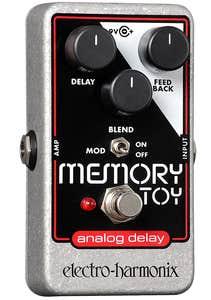Electro Harmonix Memory Toy Analog Delay Pedal W/Modulation