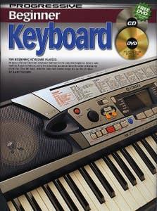 progressive beginner keyboard BOOK/CD/DVD 69166 /  (KOALA)