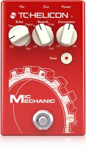 Ultra-Simple Battery-Powered Vocal Effects Stompbox with Reverb, Echo and Pitch Correction