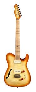 Chapman ML3P Traditional Semi-Hollow Electric Guitar - Vintage Honey Burst