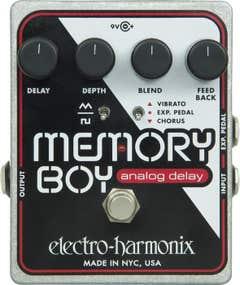 Electro Harmonix Memory Boy Analog Delay Pedal w/Chorus + Vibrato