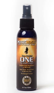 Music Nomad All In One Guitar Cleaner / Polish / Wax -120ml