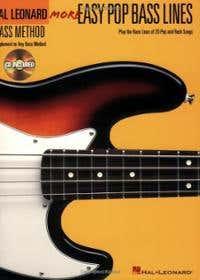 MORE EASY POP BASS LINES BK/CD / VARIOUS (HAL LEONARD)