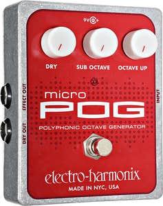Electro Harmonix Micro Pog Polyphonic Octave Generator Pedal