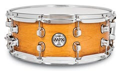 """Mapex MXP 14""""  Maple Gloss Natural Snare Drum"""