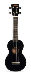 Mahalo Rainbow Series Soprano Ukulele - Black (MR1BK)
